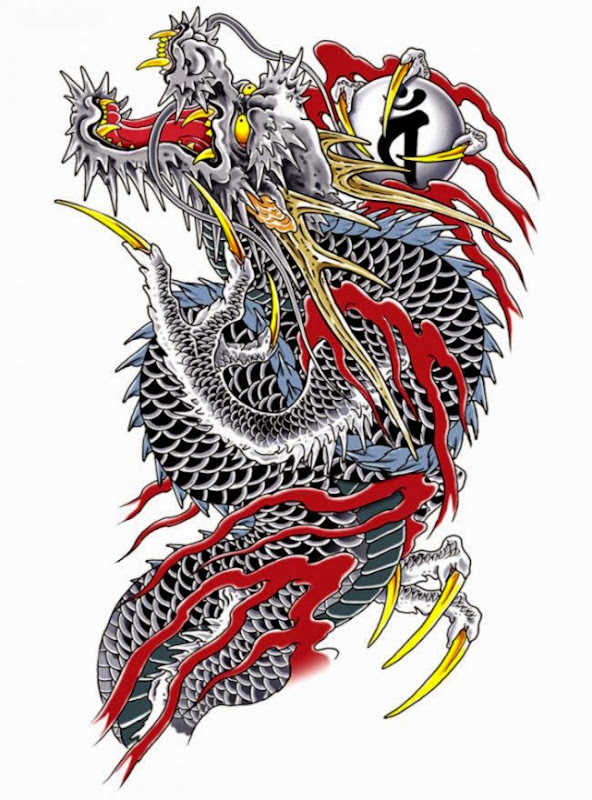 Dragon Tattoo   Characters amp Art   Yakuza