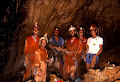 A jubilant team after the connection had been made between Clearwater and Wind Cave