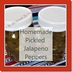 Homemade Jalapeno Peppers