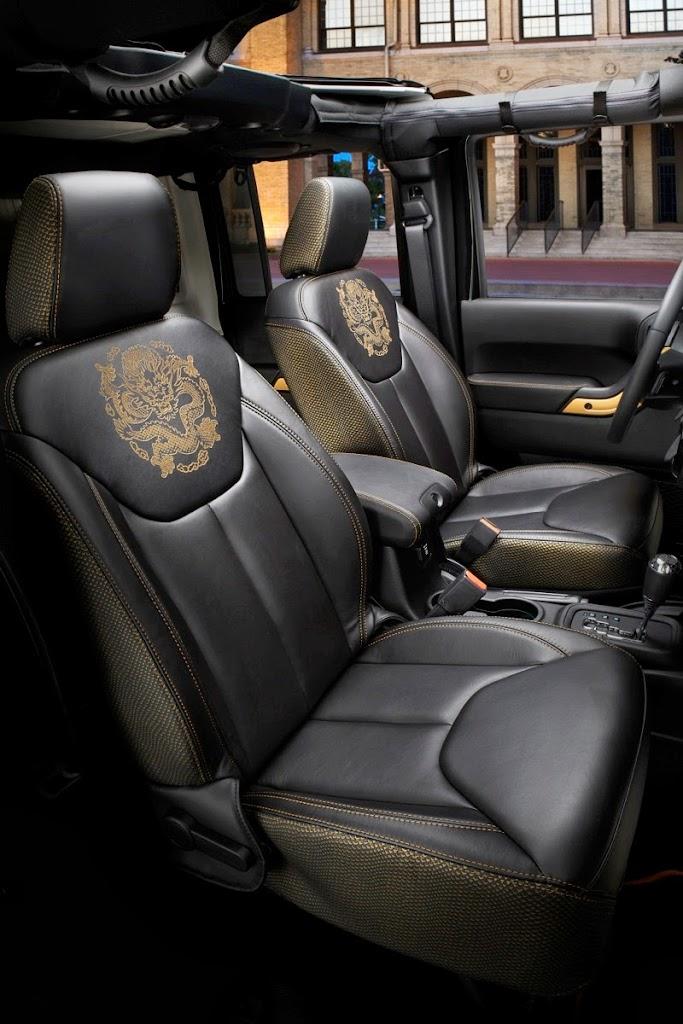 Jeep Wrangler Dragon Edition Interior 2