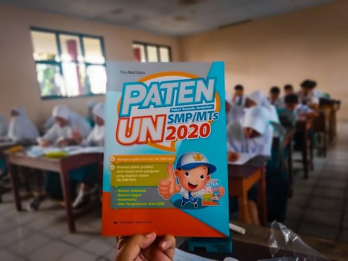 Kunci & Pembahasan Paten UN SMP 2020
