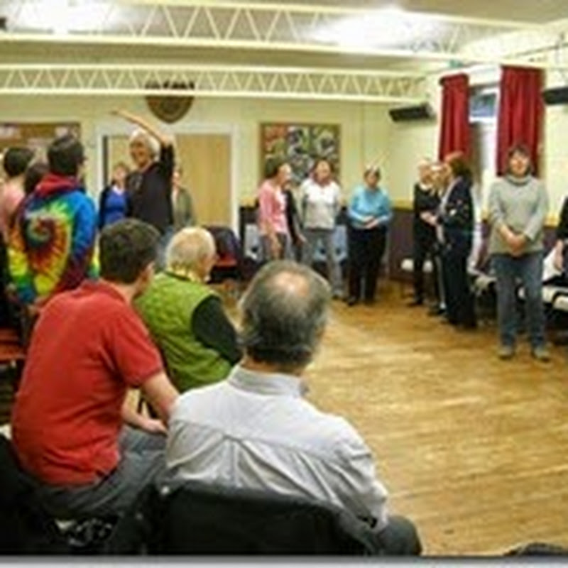 From the front of the choir: The challenges of running a drop-in singing group (and why you shouldn't start one)