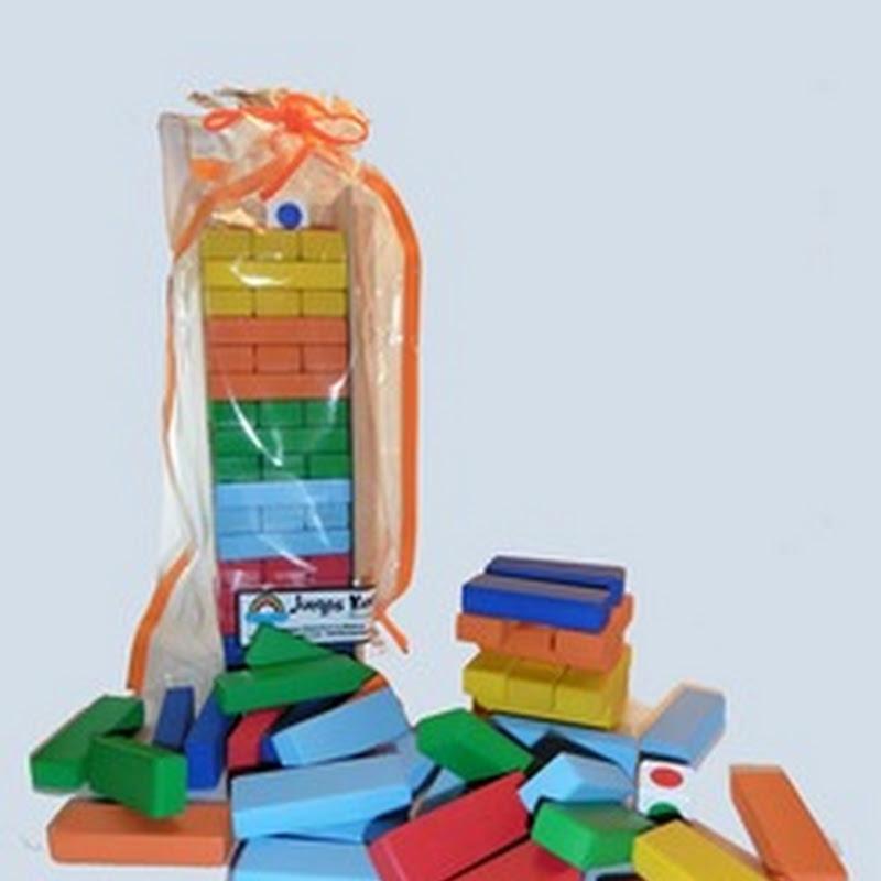 Torre de Colores - Juego de equilibrio.