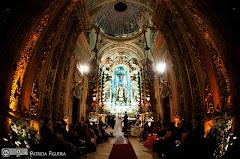 Foto 3103. Marcadores: 17/07/2010, Casamento Fabiana e Johnny, Igreja, Igreja Nossa Senhora Monte do Carmo, Rio de Janeiro