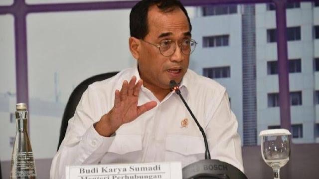 Foto: Menhub Budi Karya Sumadi. Mudik dan Pulang Kampung Sama, Jangan Buat Itu Dikotomi.
