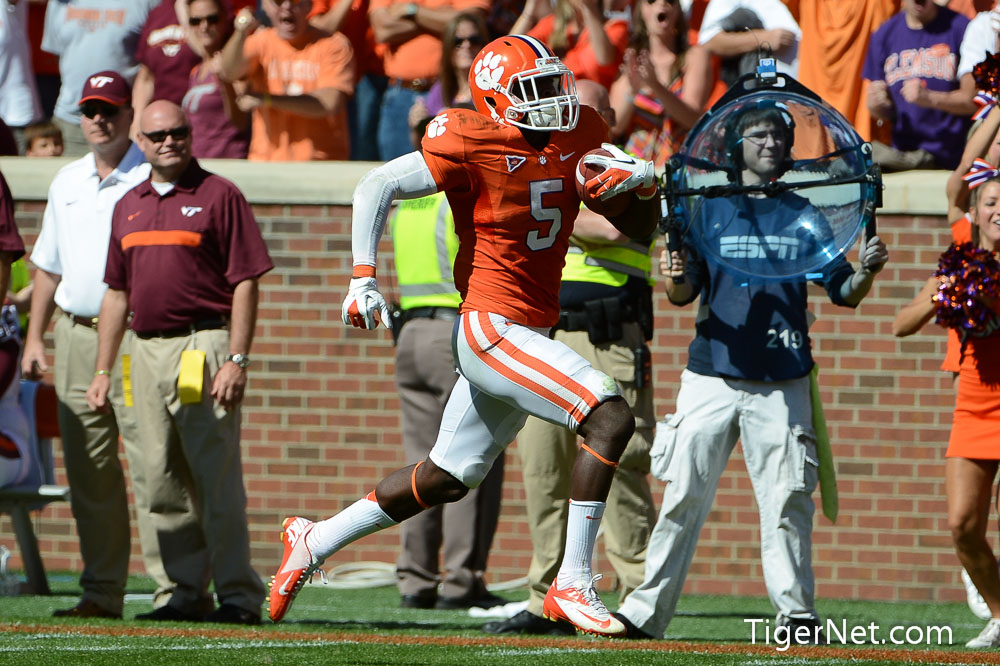 Clemson vs. Virginia Tech Photos - 2012, Football, Jonathan Meeks, Virginia Tech
