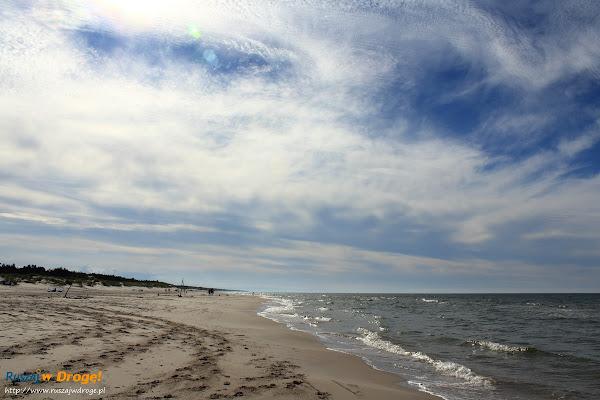 Ruszaj w Drogę na plaży koło Czołpina