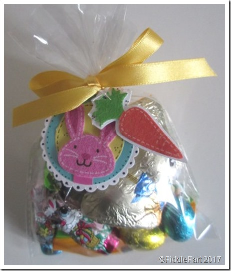 Easter Bunny Treat Bag with Easter Bunny Tag 2