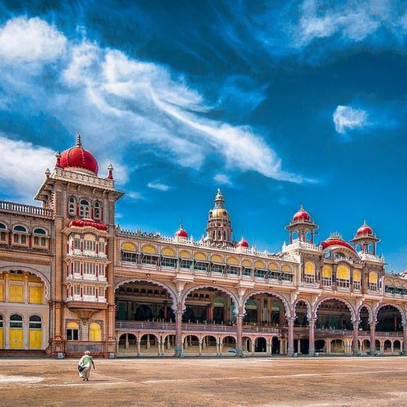 The Mysore Palace of India