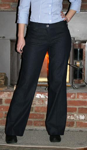 Sewaholic Thurlow: trouser jean