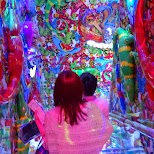 stairways at the Robot Restaurant in Kabukicho in Kabukicho, Tokyo, Japan
