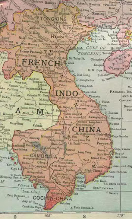 French indo china map