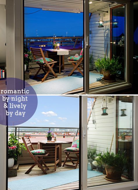 How to deck up your balcony - dress your home