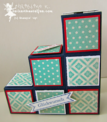 stampin up, inkspire_me challenge 152, bitty banners, famose fähnchen, box-stair-card