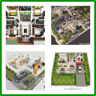 The New House Plan 3D for PC-Windows 7,8,10 and Mac apk screenshot 1