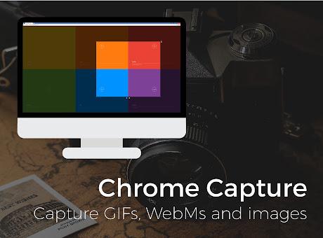 Chrome Capture - Screenshots, Videos & GIFs