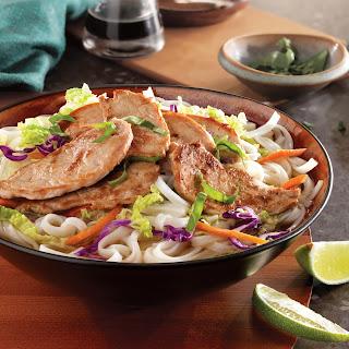 Simple Vietnamese Pork Noodle Bowl.