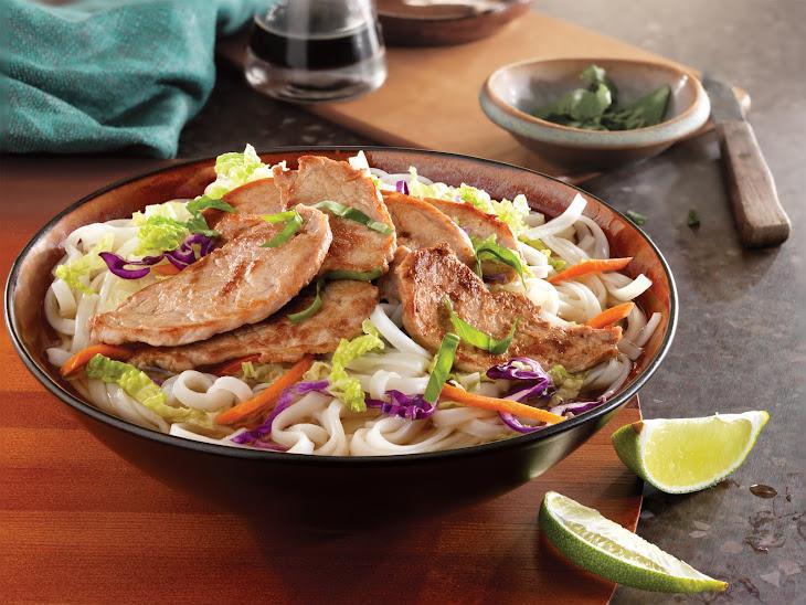 Simple Vietnamese Pork Noodle Bowl Recipe