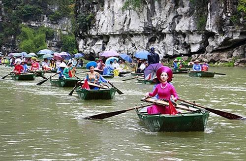 Khu du lịch Tràng An khai mạc lễ hội 2016 - 4