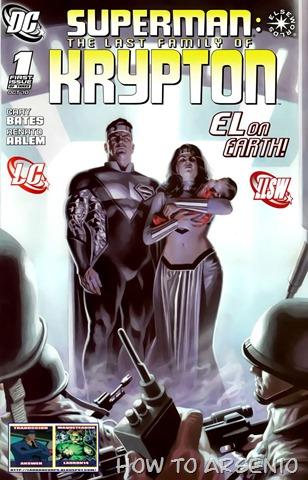 Superman - Last Family Of Krypton 1