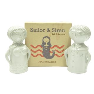 Jonathan Adler NEW 'Sailor & Siren' Salt & Pepper Shakers