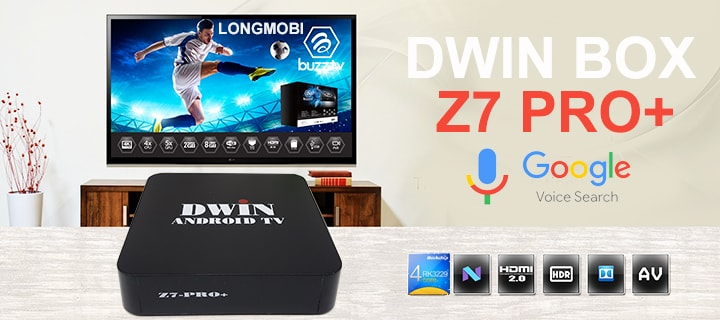 dwin z7 pro + android tv box gia re