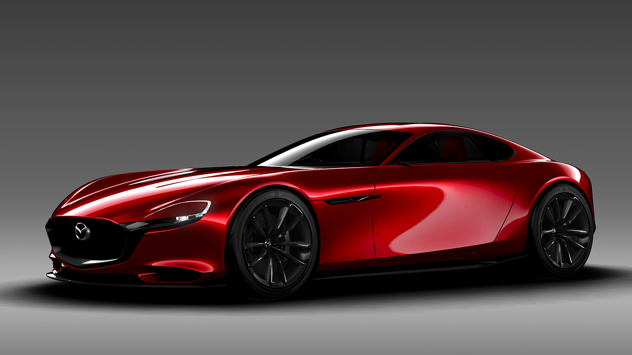 The New 2017 Mazda Rx7 Concept Revealed 1992 Engine