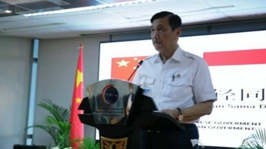 China Membantu, Luhut Membalas: Terima Kasih!
