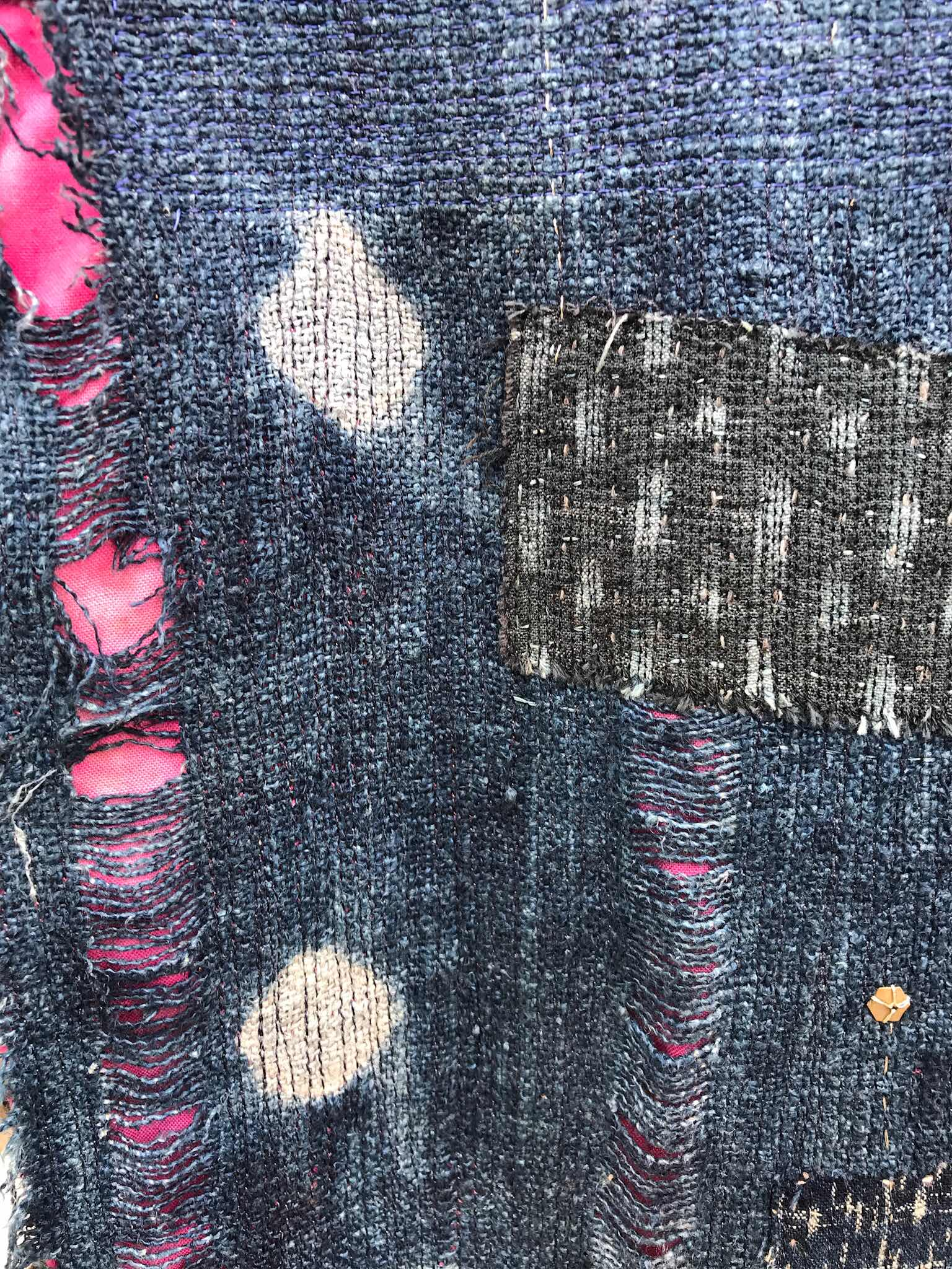 detail of textile