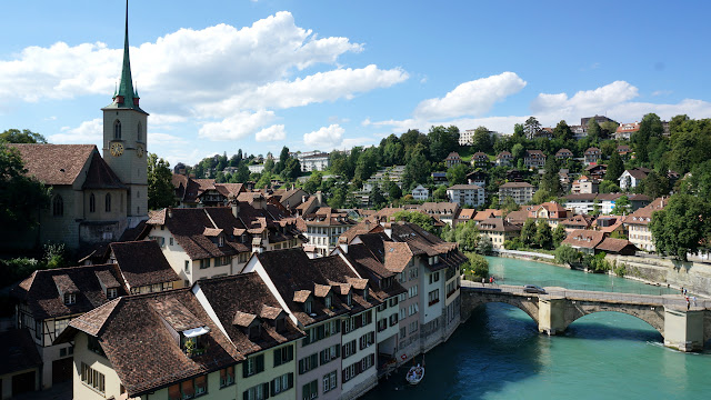 gorgeous skyline of Bern - capital of Switzerland in Bern, Bern, Switzerland