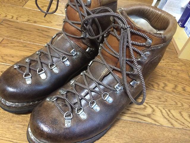 マインドル 古い登山靴