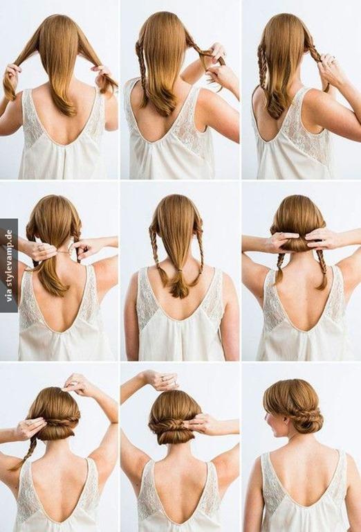 vintage braids