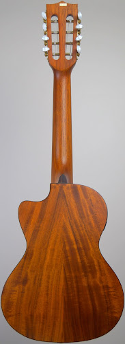 Kala Golden Acacia Ukulele back