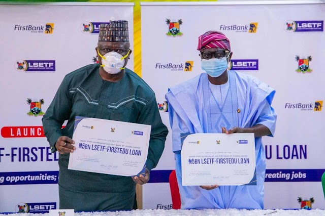 FIRSTBANK Partners LSETF To Offer Funding At Attractive Interest Rate To Low-cost Private Schools In Lagos State ~Omonaijablog