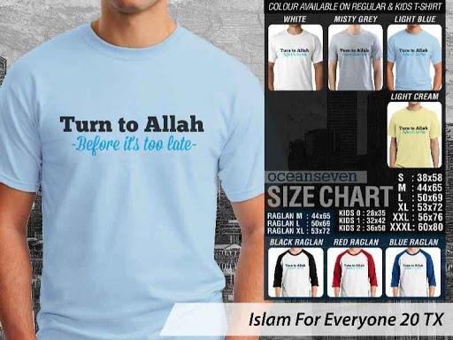 Kaos Distro Islami For Everyone 20 distro ocean seven