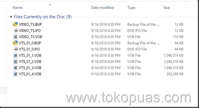 trik burning dvd agar bisa di baca di video player