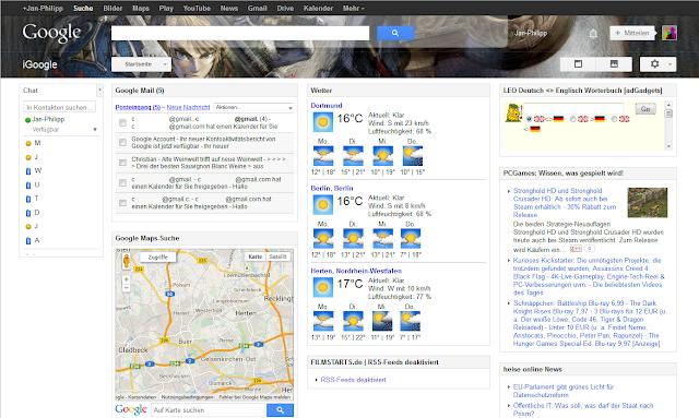 Mein iGoogle