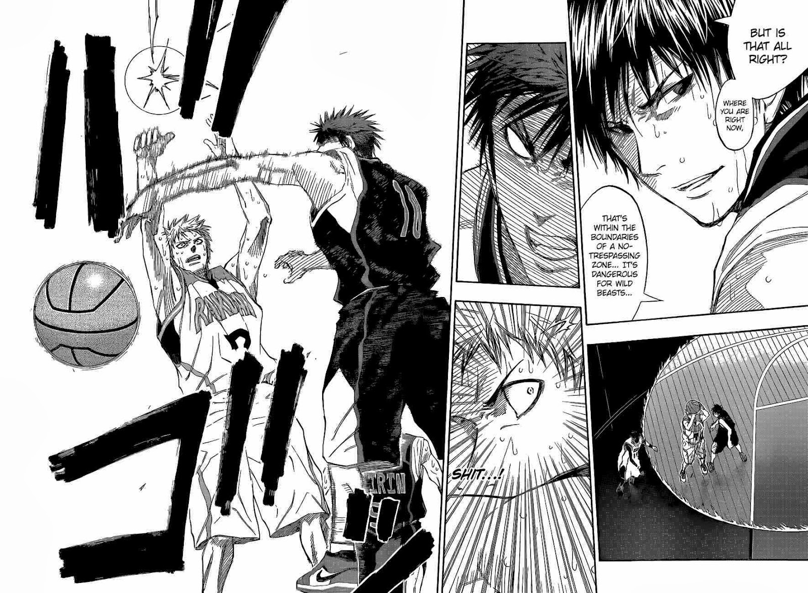 Kuroko no Basket Manga Chapter 254 - Image 10-11