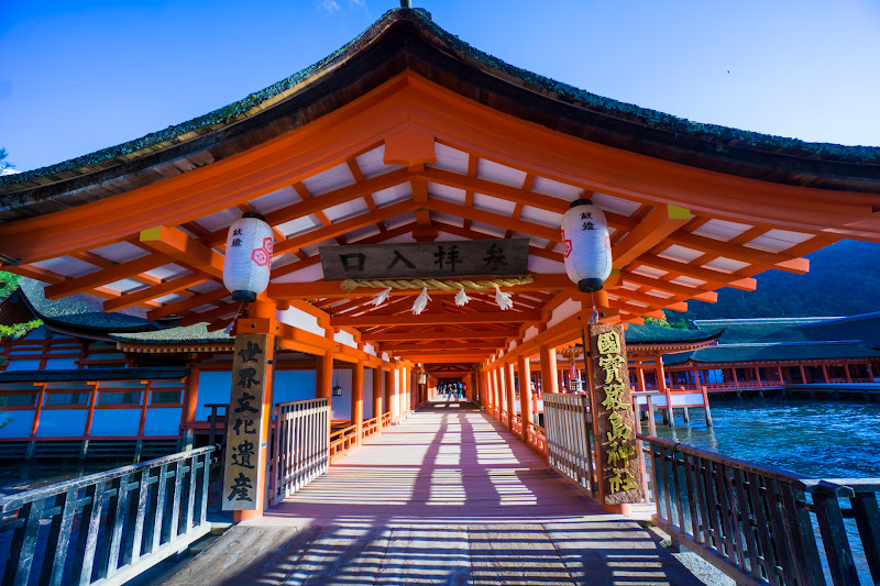 宮島 厳島神社 入口