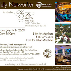 July Networker at The Palms Hotel & Spa