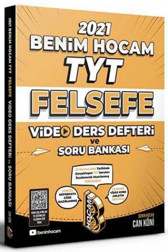 Benim Hocam Yayınları 2021 TYT Felsefe Video Ders Defteri ve Soru Bankası