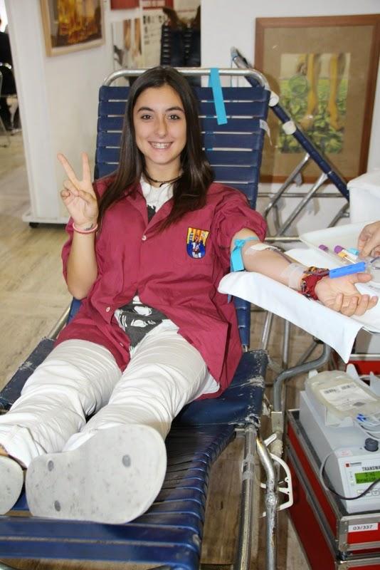 Pilar i donació a la Marató de Donació de sang  24-09-14 - IMG_4516.JPG