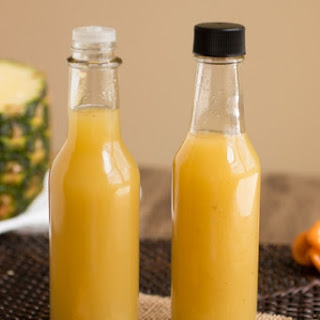 Pineapple-Habanero Hot Sauce.