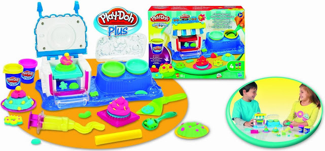 Đồ chơi Bột nặn Tráng miệng ngọt ngào Play-Doh đem đến những giờ chơi bổ ích