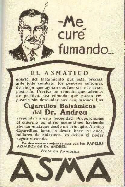 Dr. Andreu publicidad