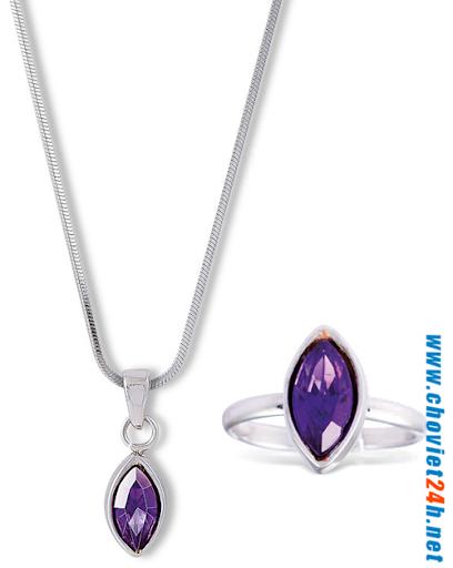 Dây chuyền Sophie Namora Purple - N00235P4