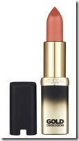 L'Oreal Gold Obsession Lipstick in Nude Gold