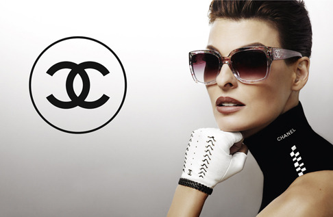 Linda Evangelista Chanel Sunglasses Spring Summer 2012 Chanel Launches Plein Soleil Eyewear with Linda Evangelista