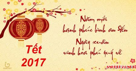 99 hình ảnh chúc mừng năm mới 2017 đẹp nhất, ảnh chúc tết 2017