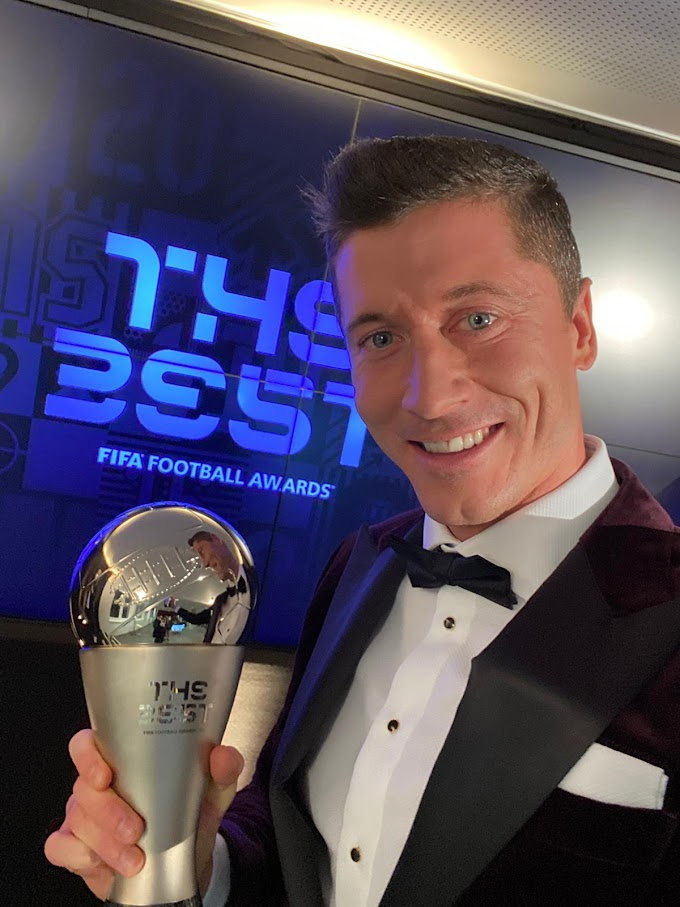 Lewandowski Beats Ronaldo And Messi To 2020 FIFA Best Men's Player Award